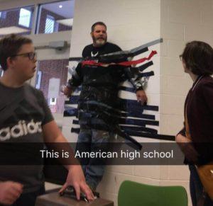 学校にて|アメリカ交換留学